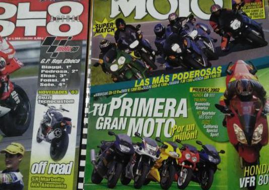Revistas motos. profesionales y apasionados.