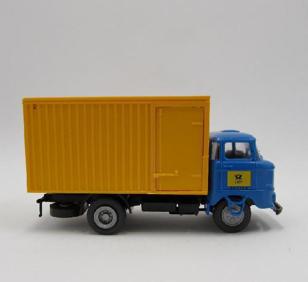 S.e.s ifa w50 1967-1990 camion con caja. escala 1/87 h0