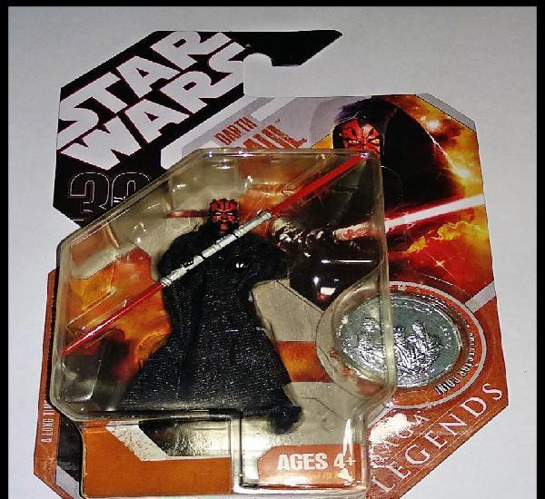 Star wars # darth maul # 30th aniversario, saga legends,