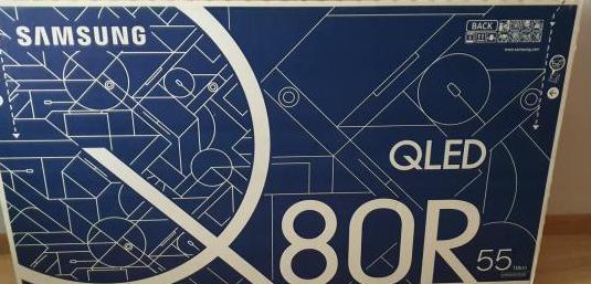"Samsung qled 55"" q80r 4k ia garantía"