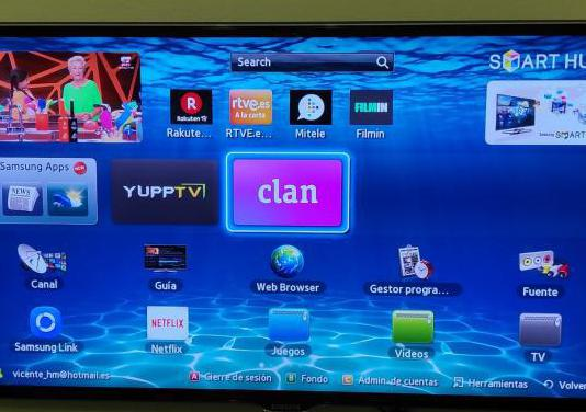 Tv samsung ue40es6570s 3d smarttv