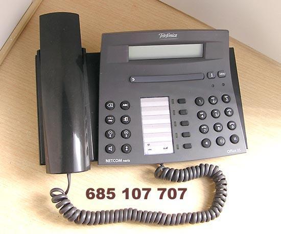 Telefono office 35 para netcom neris centralita de