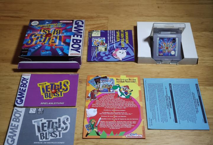 Tetris blast nintendo game boy