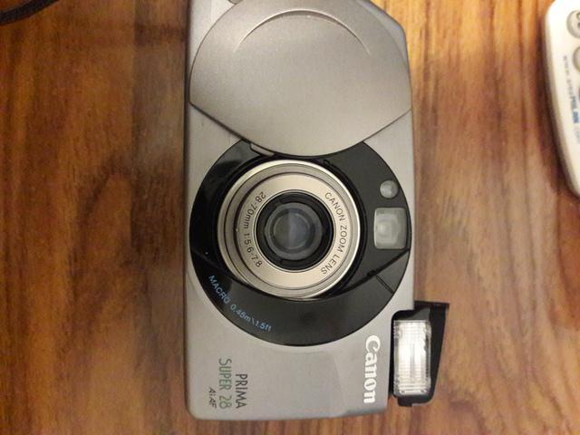 Vendo 1 camara fotos analogica cannon prima/super28