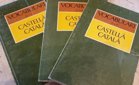 Vocabulario castellano_catalán