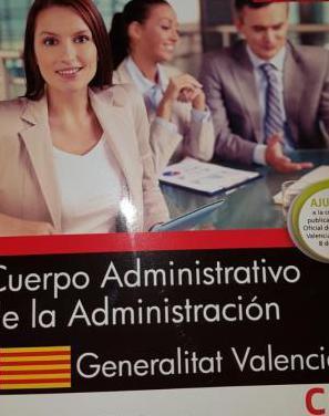 Simulacros examen administrativos generalitat vale