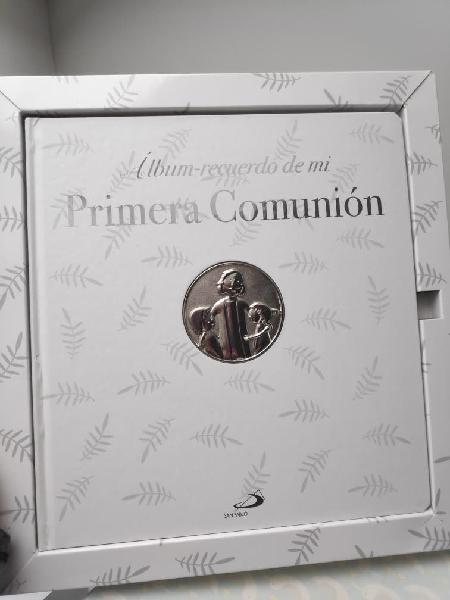Album recuerdo primera comunión