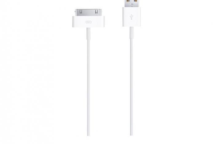Apple cable de conector a usb - cable de carga / datos