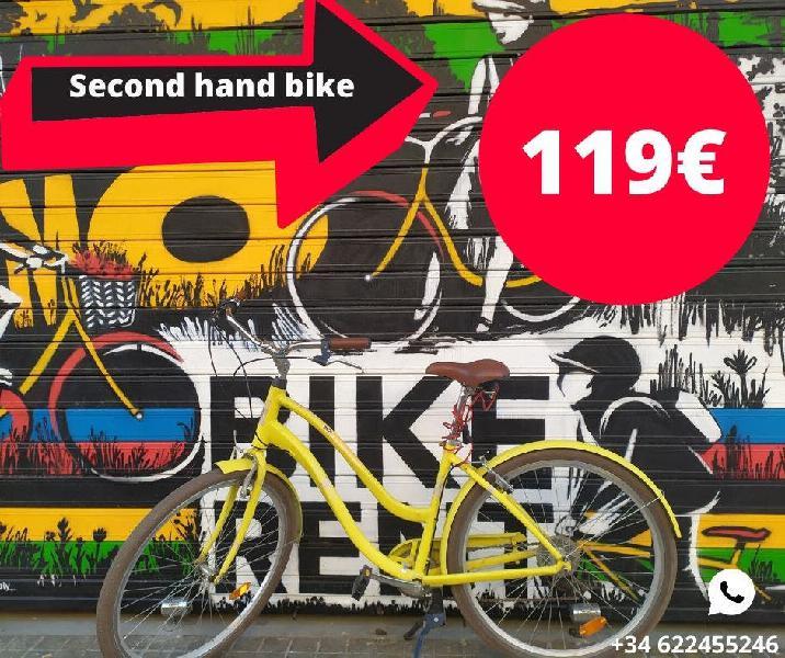 Bicicleta segunda mano - 6 meses de uso