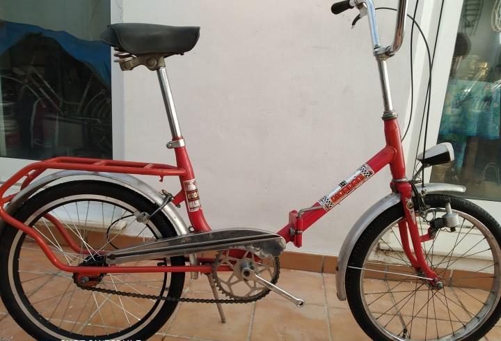 Bicicleta plegable ideal ciudad mixta funciona