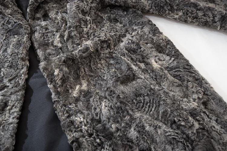 Chaquetón. abrigo piel real y auténtica.