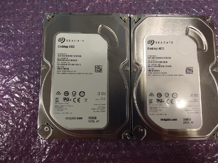 "Disco duro 500gb de 3,5"" sata"