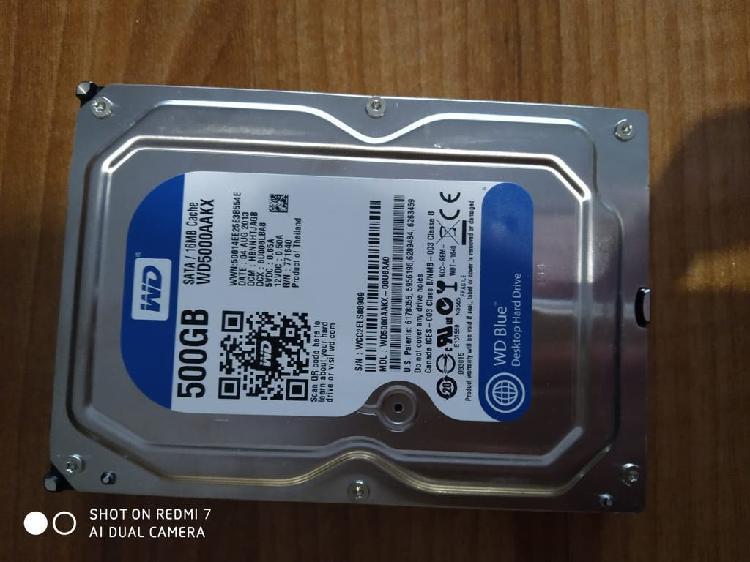Disco duro Interno Western Digital de 500 GB