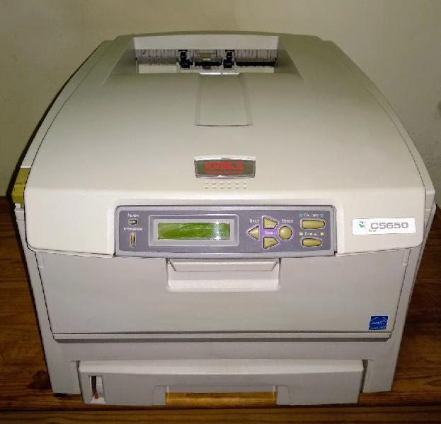Impresora oki c5650 urge solo esta semana