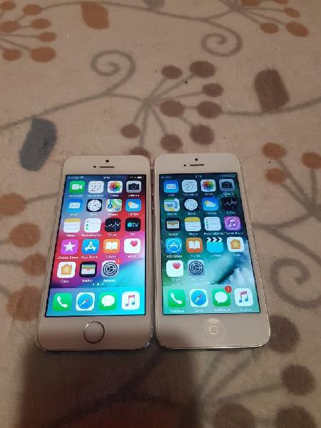 Iphone 5s y 5 16gb ( como nuevos )