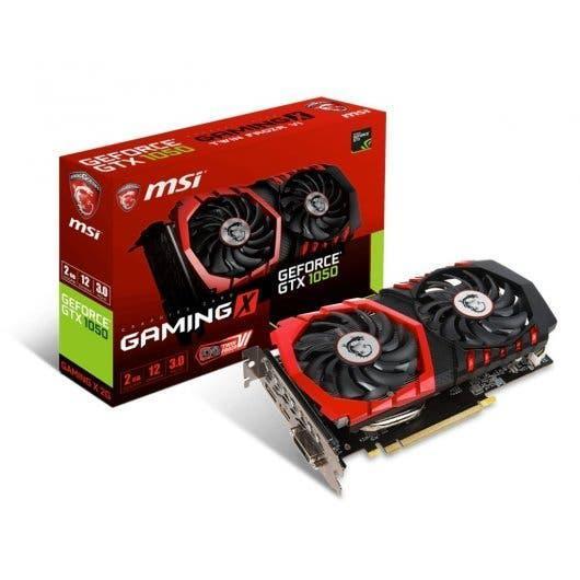 Msi geforce gtx 1050 gaming x 2gb gddr5