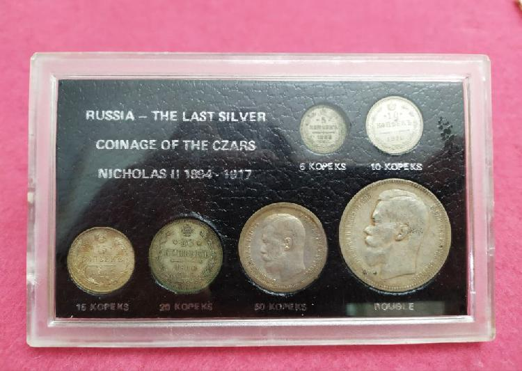 Monedas plata nicholas iii