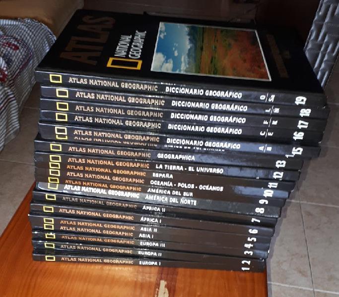 Nacional geografic diccionario 19 ediciones