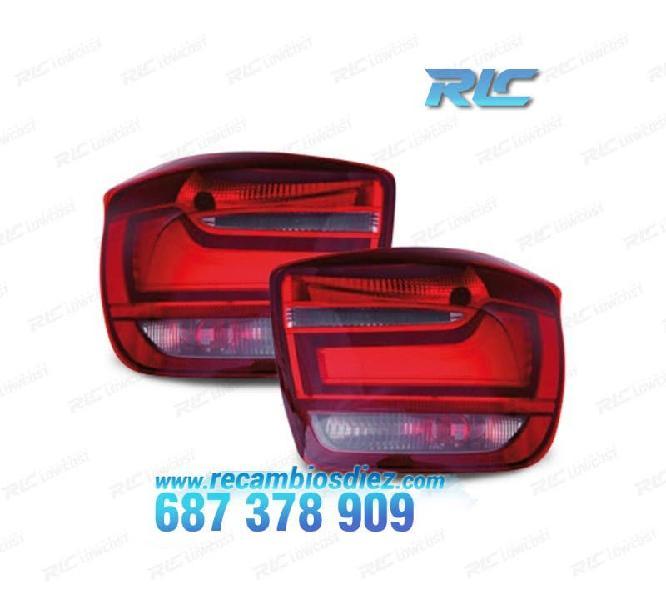 Pilotos bmw f20/21 11- color rojo/negro