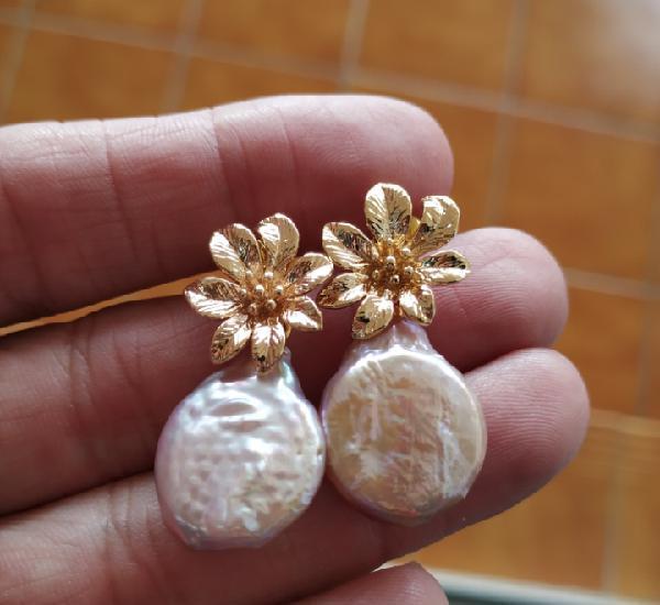 Perlas moradas barrocas de australia, nuevas
