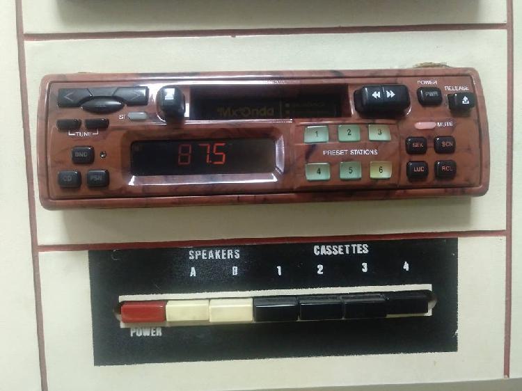 Radio cassette coche mx-onda salamanca