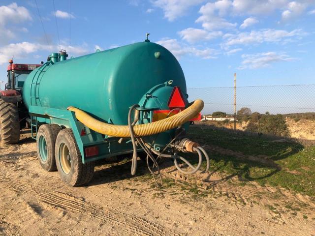 Remolque Cisterna Agrícola