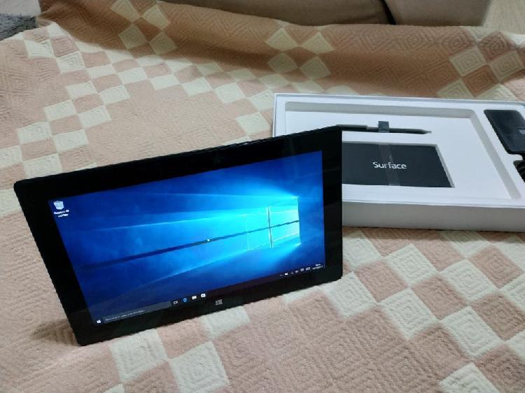 Surface pro 1 (i5) (bateria agotada) sin cargador