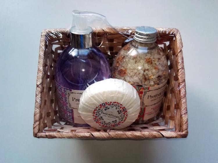 Set de baño pretty & vintage (precintado)