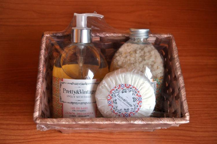 Set de baño pretty & vintage (precintado) set de b