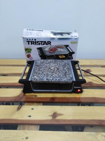 Tristar grill/plancha con piedra