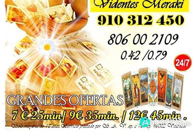 Videncia del amor promoción visa 910312450
