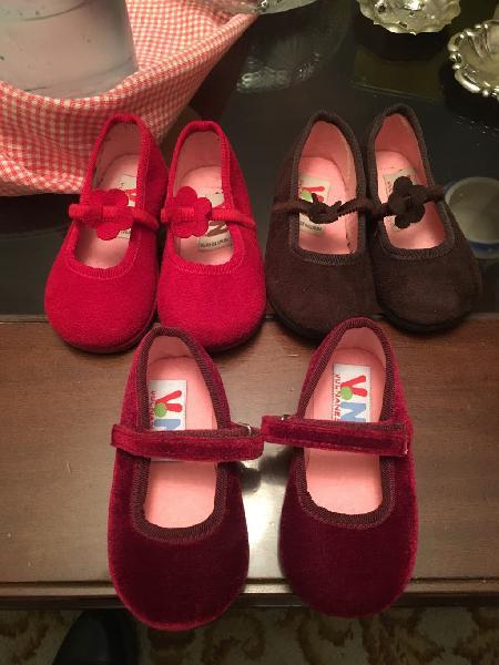 Zapatos niña piel ante número 20