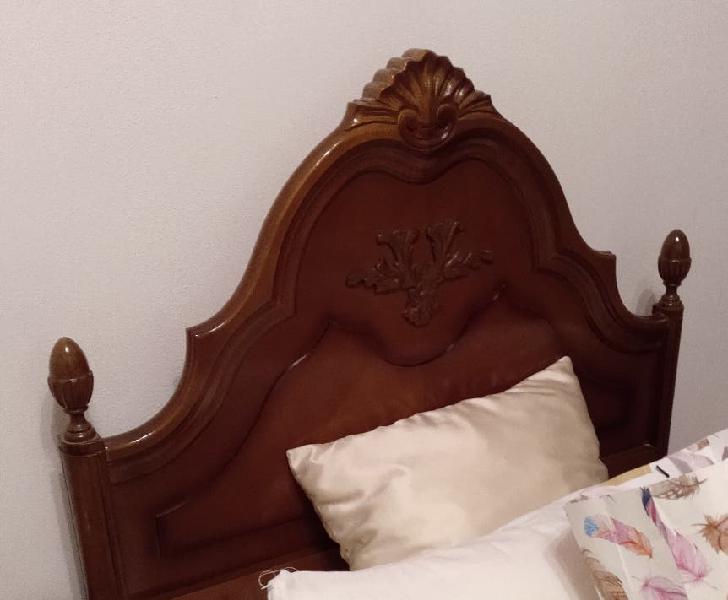 Dormitorio completo en madera