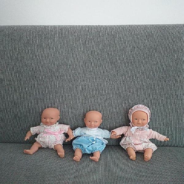 Lote x 3 muñecos la nina
