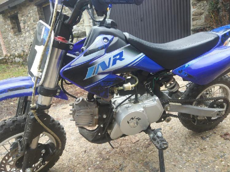 Pit bike 90 cc automatica, arranque eléctrico,