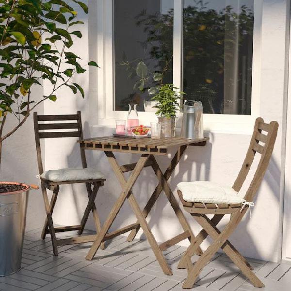 JOKKMOKK Mesa con 4 sillas tint envj en 2020 | Mesa