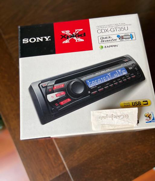 Sony cdx-gt35u_compac disc car audio