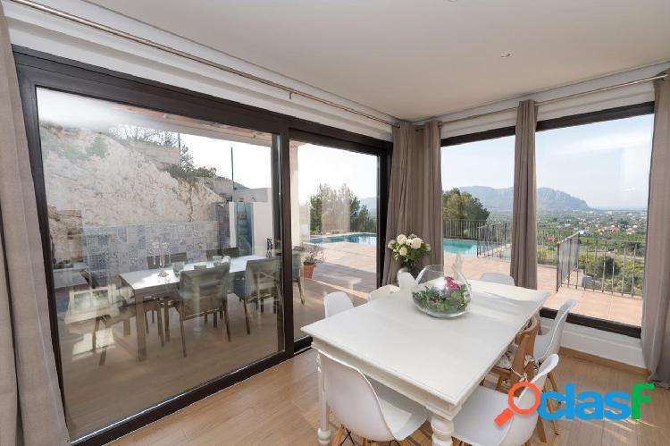 Moderna villa en venta en Pedreguer con vistas al mar - GV5012B 3