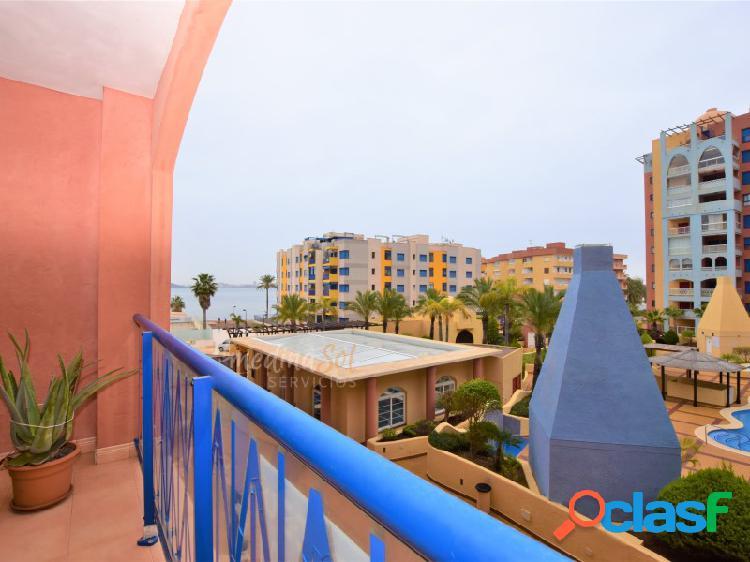 Apartamento con terraza, garaje, piscina y zonas de ocio Playa Honda