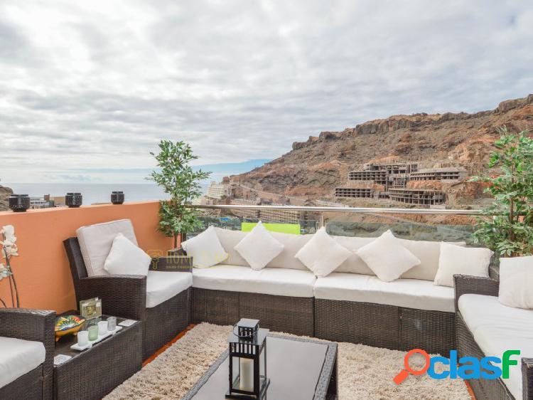 Apartamento reformado con preciosas vistas al mar en taurito