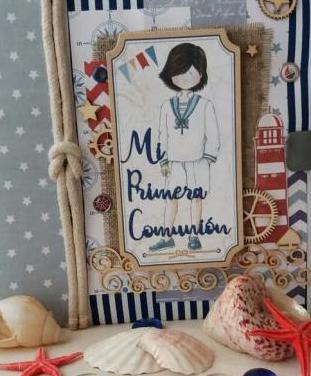 Album libro de firmas comunión niño