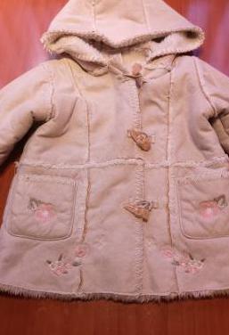 Abrigo niña 80 cm (2-3 años)