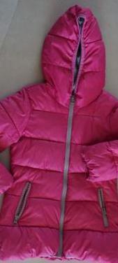 Abrigo niña rosa beneton 4-5 años