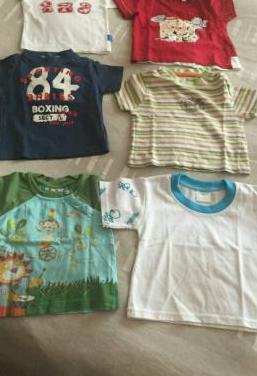 Camisetas manga corta bebé 2-3 meses