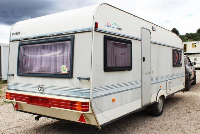 Caravana modelo hobby