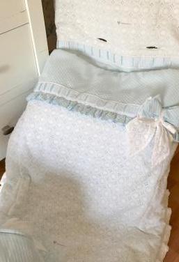 Conjunto saco, bolso y sombrilla carro bebe
