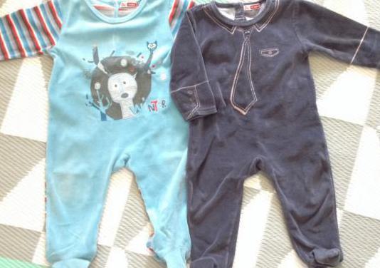 Dpam lote 2 pijamas niño bebe 12 meses