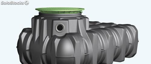 Depósito para aguas pluviales 3.000 litros POLIETILENO
