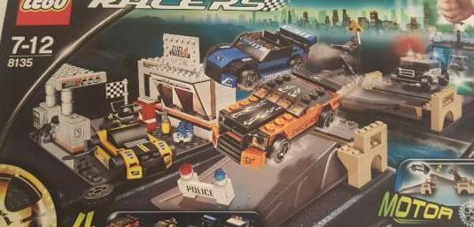 "Lego 8135 racers ""nuevo"""