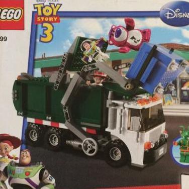 Lego toy story 7599 - camión basura